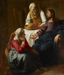 Martha and Mary (Johannes_(Jan)_Vermeer)