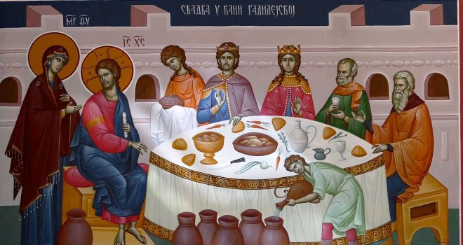 Wedding Feast At Cana.The Wedding Feast Of Cana Fatherfladerblog